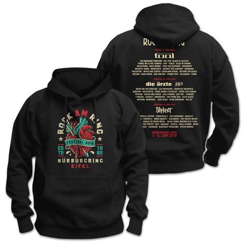 √Heartbreaker von Rock am Ring Festival - Hood sweater jetzt im Bravado Shop