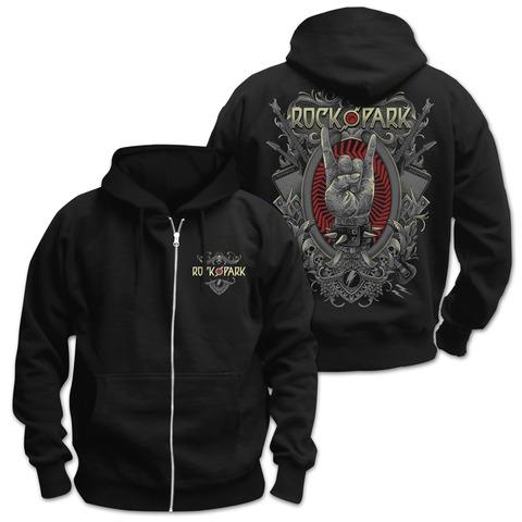 √Rock Crest von Rock im Park Festival - Hooded jacket jetzt im Bravado Shop