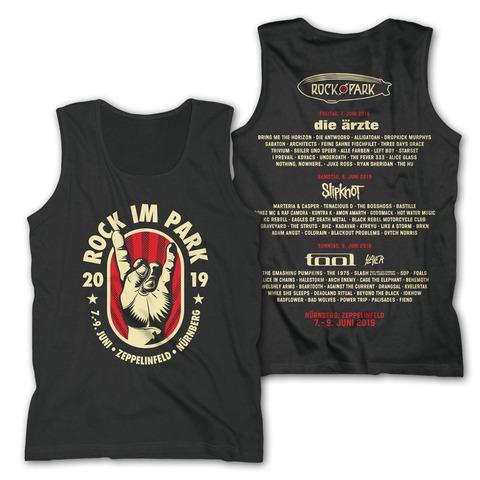 √Badge Hand von Rock im Park Festival - Men's Tank Top jetzt im Bravado Shop