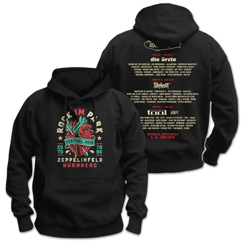 √Heartbreaker von Rock im Park Festival - Hood sweater jetzt im Bravado Shop