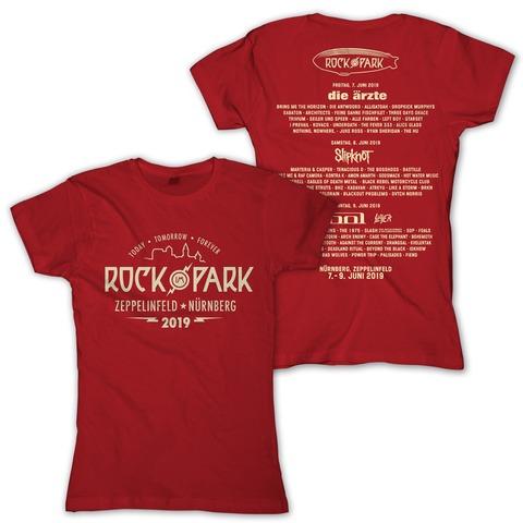 √College Badge von Rock im Park Festival - Girlie Shirt jetzt im Bravado Shop