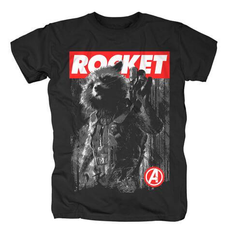 √Rocket von Avengers - T-Shirt jetzt im Bravado Shop