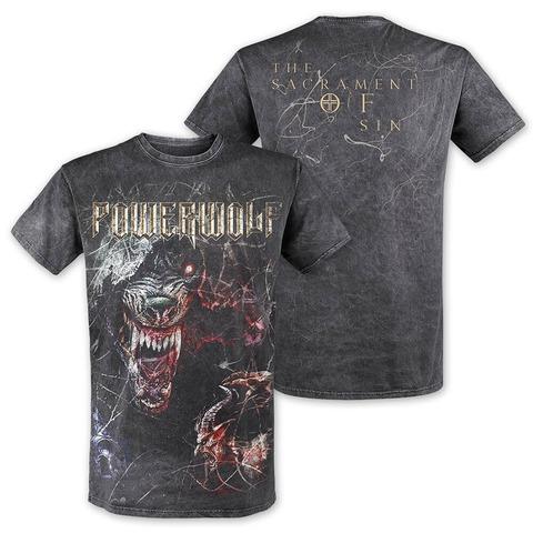√TSOS - Wolf von Powerwolf - T-Shirt jetzt im Bravado Shop
