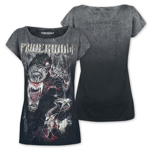 √TSOS - Wolf von Powerwolf - Girlie Shirt jetzt im Bravado Shop