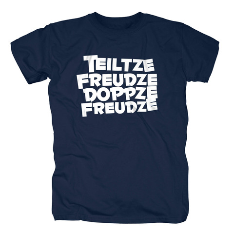 √Teiltze Freudze Doppze Freudze von Sascha Grammel - T-Shirt jetzt im Bravado Shop