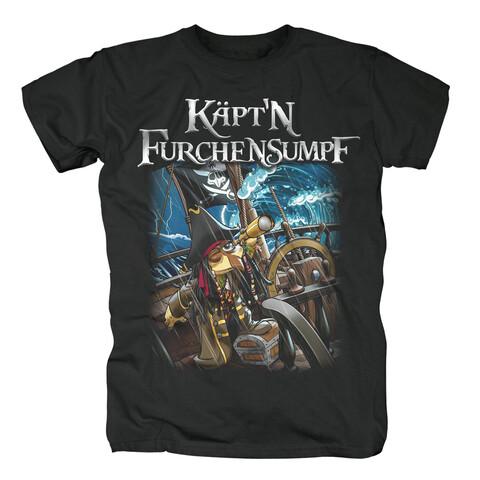 √Käptn Furchensumpf von Sascha Grammel - T-Shirt jetzt im Bravado Shop