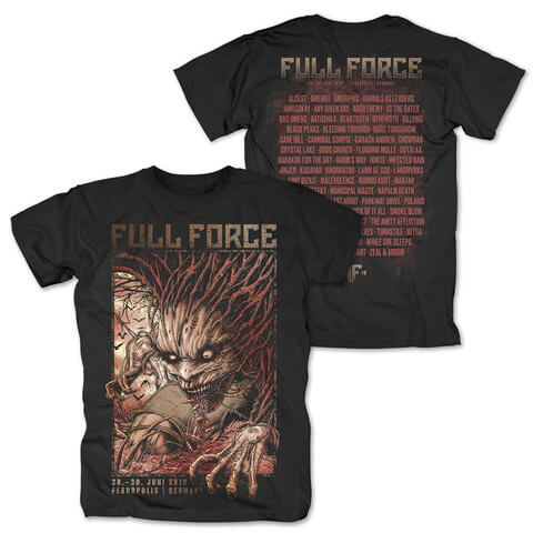 Creature Of Force von Full Force Festival - T-Shirt jetzt im Bravado Shop
