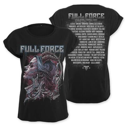 √Memories von Full Force Festival - Girlie Shirt jetzt im Bravado Shop