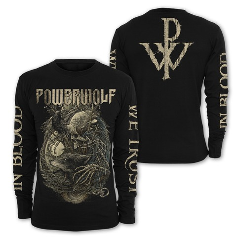 √In Blood We Trust von Powerwolf - Long-sleeve jetzt im Bravado Shop
