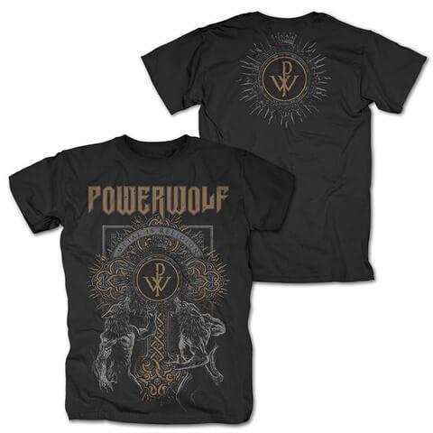 √Wolf Cross von Powerwolf - T-Shirt jetzt im Bravado Shop