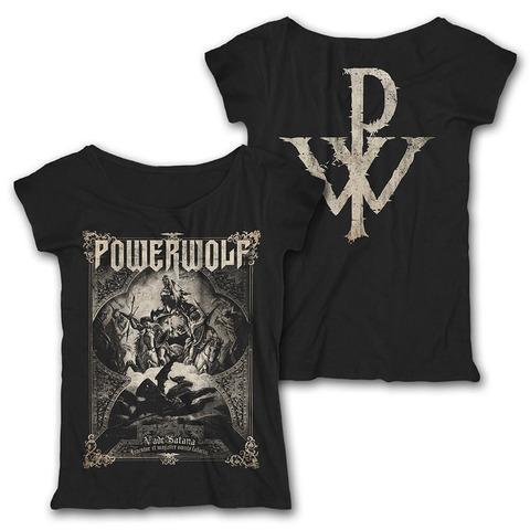 √Vade Satana von Powerwolf - Girlie Loose Fit Shirt jetzt im Bravado Shop