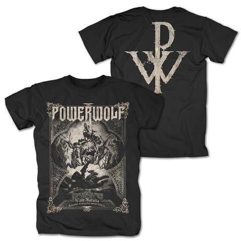 √Vada Satana von Powerwolf - T-Shirt jetzt im Bravado Shop