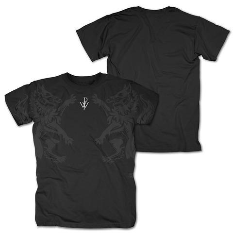 √Wolves and Logo von Powerwolf - T-Shirt jetzt im Bravado Shop