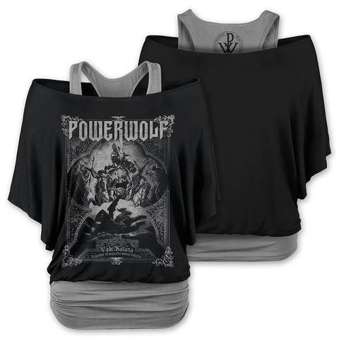 √Vada Satana von Powerwolf - Doublelayer Girlie Shirt jetzt im Bravado Shop