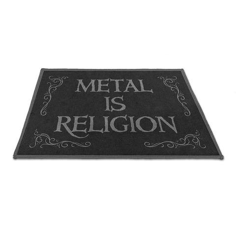 √Metal Is Religion von Powerwolf - Floor mat jetzt im Bravado Shop