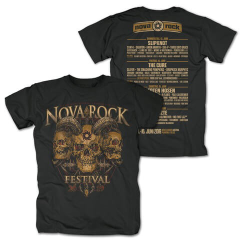 √Song For The Dead von Nova Rock Festival - T-Shirt jetzt im Bravado Shop