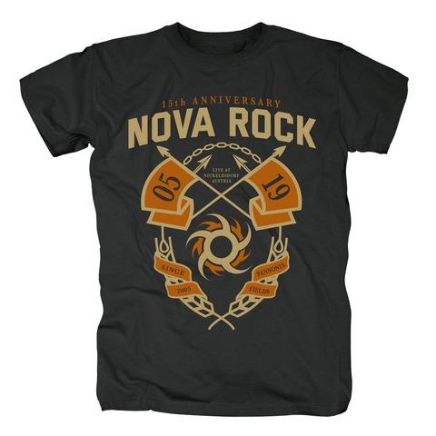 √15th Anniversary von Nova Rock Festival - T-Shirt jetzt im Bravado Shop