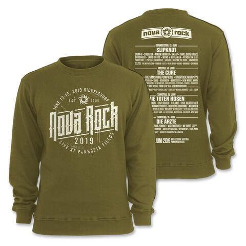 √Regular John von Nova Rock Festival - Sweater jetzt im Bravado Shop