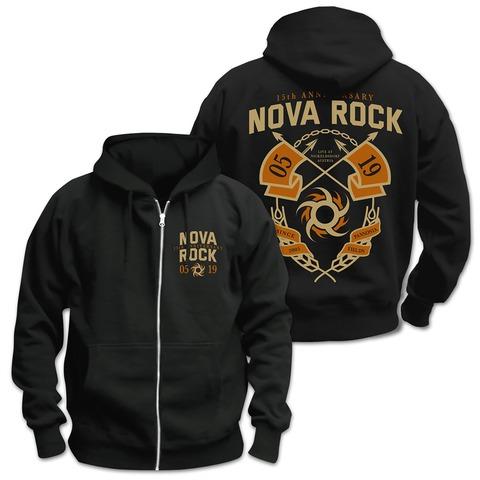 √15th Anniversary von Nova Rock Festival - Kapuzenzipper jetzt im Bravado Shop