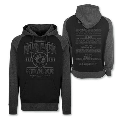 √Go With The Flow von Nova Rock Festival - Hood sweater jetzt im Bravado Shop