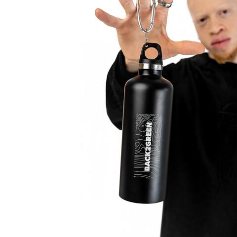 √FUCK PLASTIC Bottle von Green Berlin - Trinkflasche mit Karabiner jetzt im Bravado Shop