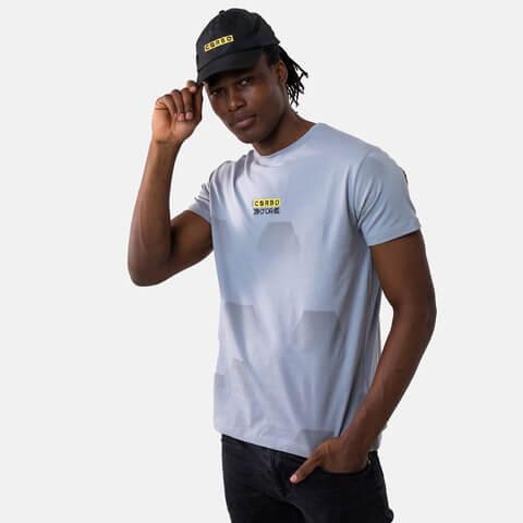 √Hexa Camo Techshirt Grey von Corbo -  jetzt im Bravado Shop