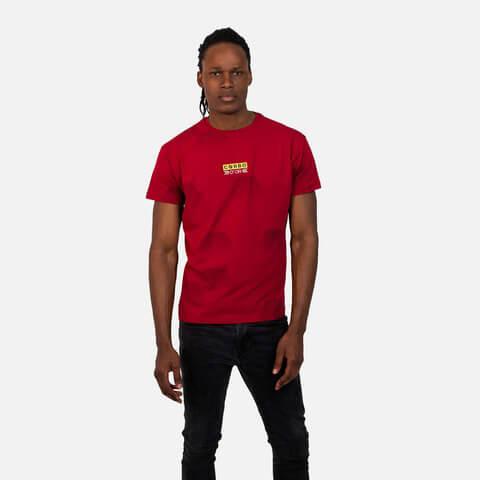 √Hexa Camo Techshirt Red von Corbo -  jetzt im Bravado Shop