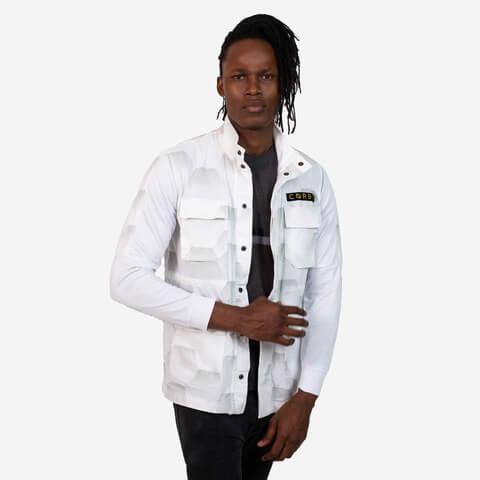 √Hexa Light Urban Combat Jacket White von Corbo -  jetzt im Bravado Shop