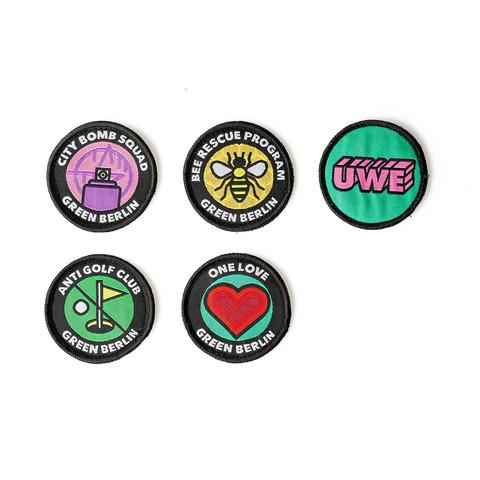 √PATCH Set von Green Berlin - Set of patches jetzt im Bravado Shop