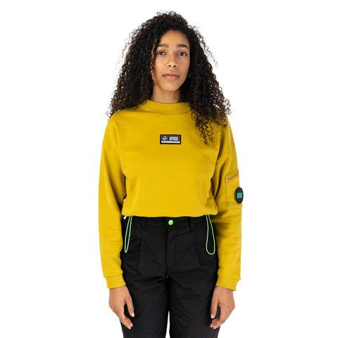 √MOVEMENT Cropped Sweater von Green Berlin - Sweats jetzt im Bravado Shop