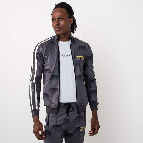 √Hexa Camo Trackjacket Grey von Corbo -  jetzt im Bravado Shop