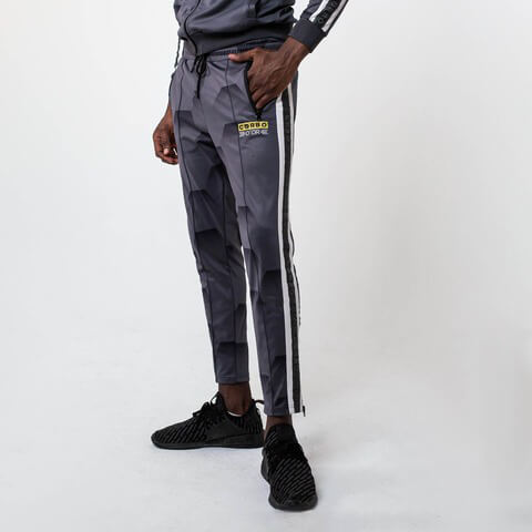 √Hexa Camo Trackpants Grey von Corbo -  jetzt im Bravado Shop