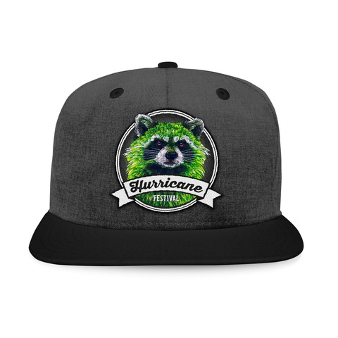 √Racoon Badge von Hurricane Festival - Snap Back Cap jetzt im Bravado Shop