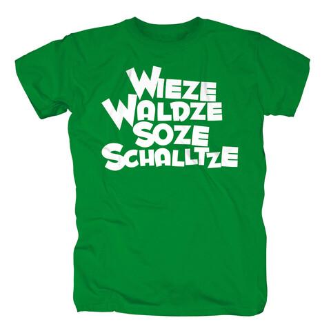 √Wieze Waldze Soze Schalltze von Sascha Grammel - T-Shirt jetzt im Bravado Shop