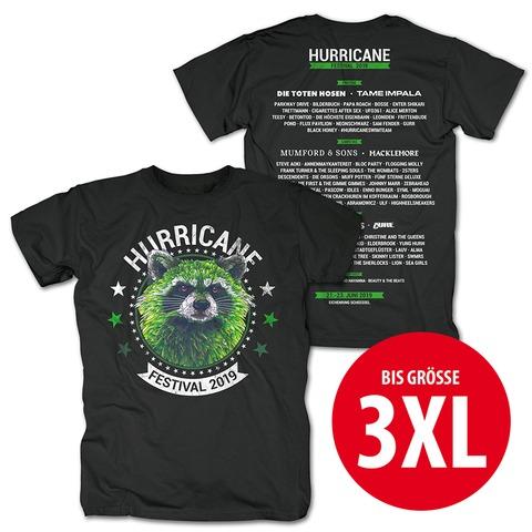 √Circle Racoon von Hurricane Festival - T-Shirt jetzt im Bravado Shop