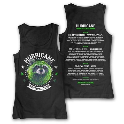 √Circle Racoon von Hurricane Festival - Girl Tank Top jetzt im Bravado Shop