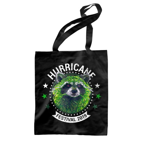 √Circle Racoon von Hurricane Festival - Record Bag jetzt im Bravado Shop