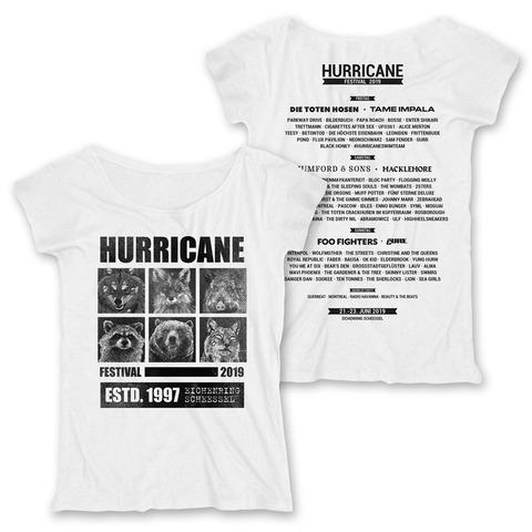√Most Wanted von Hurricane Festival - Girlie Shirt jetzt im Bravado Shop