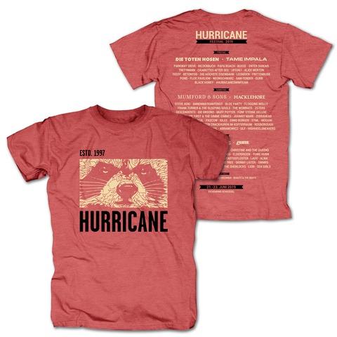 √Face von Hurricane Festival - T-Shirt jetzt im Bravado Shop