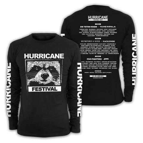 √Black and White von Hurricane Festival - Long-sleeve jetzt im Bravado Shop
