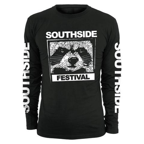 √Black and White von Southside Festival - Long-sleeve jetzt im Bravado Shop