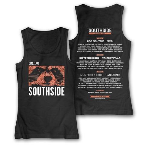 √Face von Southside Festival - Girlie tank top jetzt im Bravado Shop