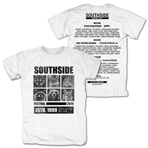 √Most Wanted von Southside Festival - T-Shirt jetzt im Bravado Shop