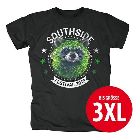 √Circle Racoon von Southside Festival - T-Shirt jetzt im Bravado Shop