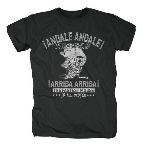 √Speedy Gonzales - Andale Andale von Looney Tunes - T-Shirt jetzt im Bravado Shop