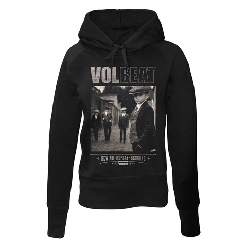 √Rewind Replay Rebound Cover von Volbeat - Girlie hooded sweater jetzt im Bravado Shop