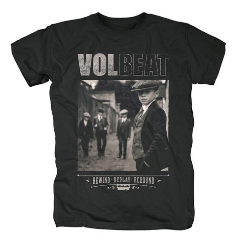 √Rewind Replay Rebound Cover von Volbeat - T-Shirt jetzt im Bravado Shop