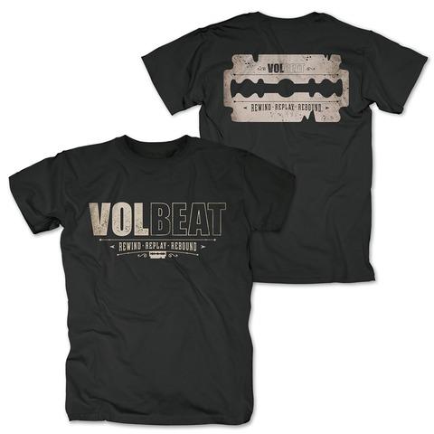 √Distressed Logo - black von Volbeat - T-Shirt jetzt im Bravado Shop