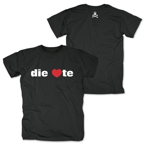 &radic;die <3te von die ärzte - T-Shirt jetzt im Bravado Shop