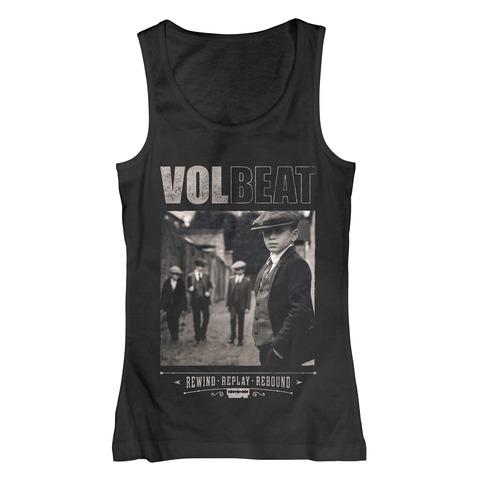 √Rewind Replay Rebound Cover von Volbeat - Girlie tank top jetzt im Bravado Shop